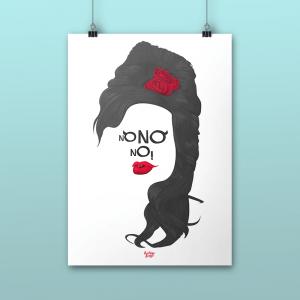 Pôster No No No Amy Winehouse