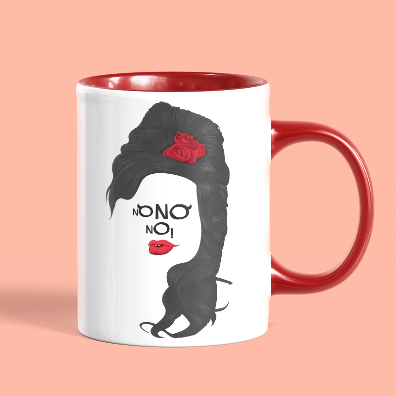Caneca No No No Amy Winehouse